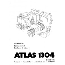 Atlas 1304 Serie 135 Parts Manual - 3
