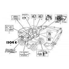 Atlas 1304 K Serie 138 Parts Manual