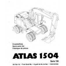 Atlas 1504 Serie 150 Parts Manual - 2