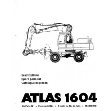 Atlas 1604 Parts Manual - 2