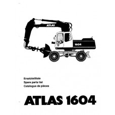 Atlas 1604 Serie 166 Parts Manual