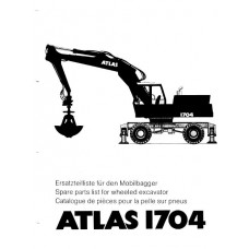 Atlas 1704 Parts Manual