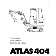 Atlas 404 Parts Manual