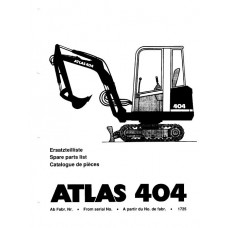 Atlas 404 Parts Manual - 2
