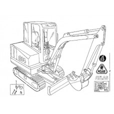 Atlas 804 R Parts Manual