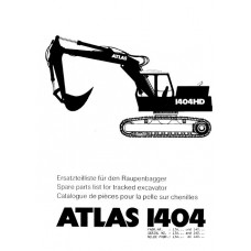 Atlas 1404 R Parts Manual