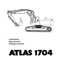 Atlas 1704 R Serie 372 Parts Manual