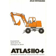 Atlas AB 1104 Parts Manual - 3