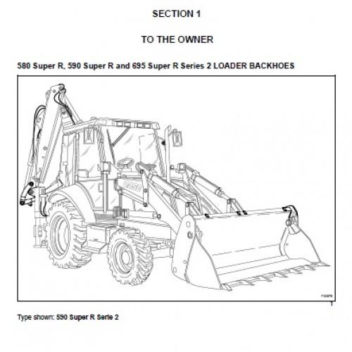 case 580 super r 590 super r 695 super r operators manual rh tractorboek com case 580 manuel case 580 manuel