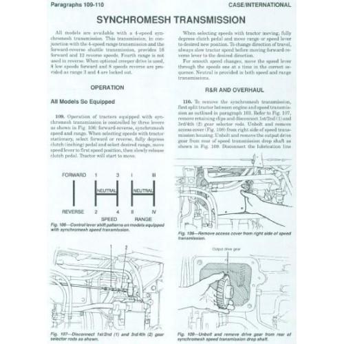 case international 5120 5130 5140 workshop manual rh tractorboek com case ih 5130 service manual Case 5130 Problems