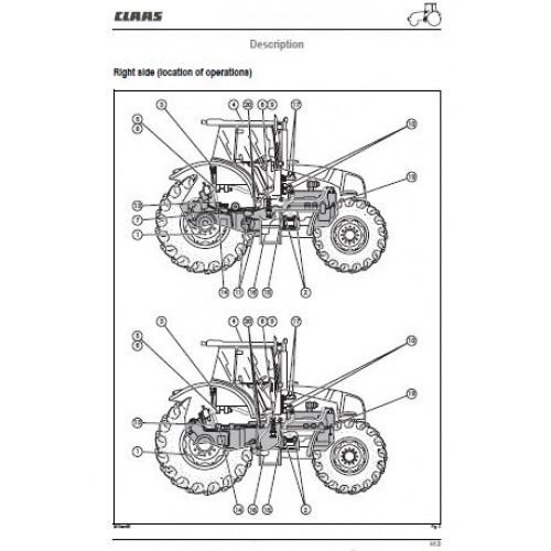 claas ares 816 826 836 workshop manual rh tractorboek com claas combine workshop manual claas arion 640 workshop manual