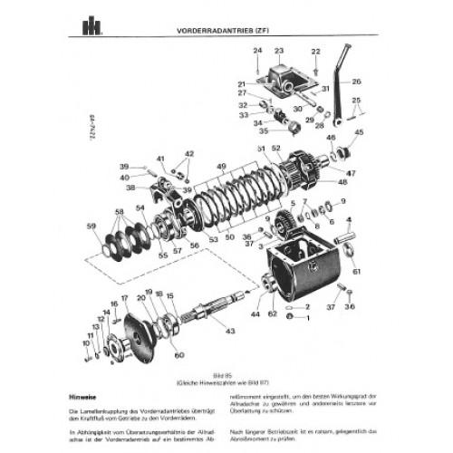 international 554 644 744 844 844s workshop manual rh tractorboek com
