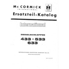 Mc Cormick International 433 - 533 - 633 Parts Manual