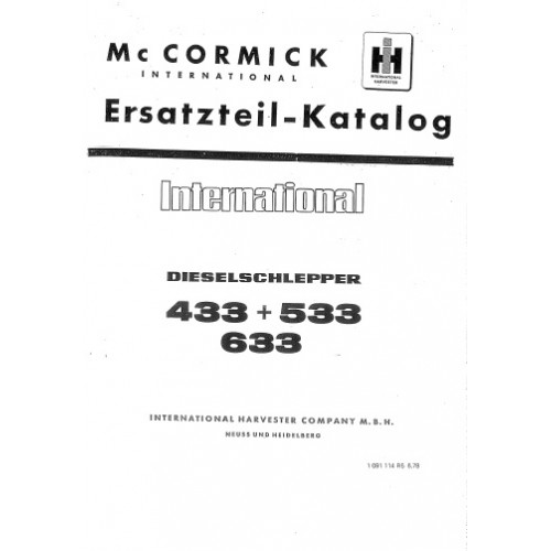 mc cormick international 433 - 533