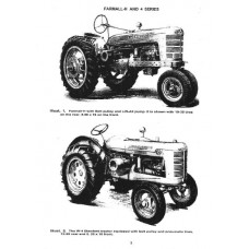 Farmall H - HV - W-4 - O-4 - OS-4 - I-4 - U-4 - IU-4 International Harvester Workshop Manual