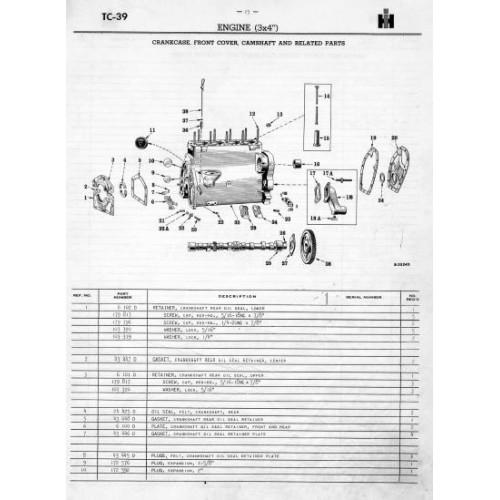 farmall super a - super av - super a-1 - super av-1 mc cormick  international harvester parts  tractorboek