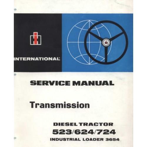 international 523 624 724 3654 mc cormick power train rh tractorboek com McCormick International Tractors International Harvester McCormick