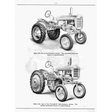 Farmall A - Farmall B Mc Cormick International Harvester Parts Manual
