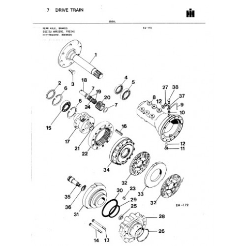 international 856 xl parts manual rh tractorboek com 400 Case Parts Manuals Case 680CK Parts Diagrams