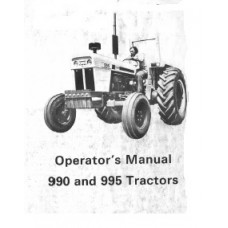 David Brown 990 - 995 Operators Manual