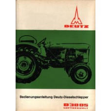 Deutz D3005 Operators Manual