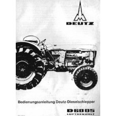 Deutz D6005 Operators Manual