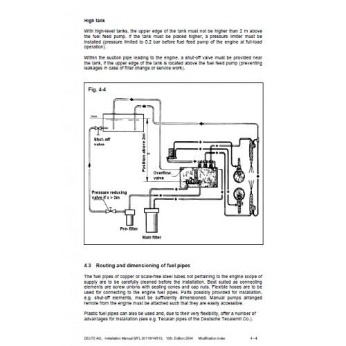 deutz diesel engine 413 513 909 910 912 913 914 1011 rh tractorboek com Deutz Diesel Engine Service Manuals Deutz Diesel Engine Service Manuals