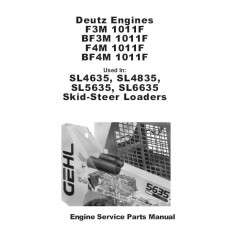 Deutz Diesel Engine F3M1011F - BF3M1011F - F4M1011F - BF4M1011F Parts Manual
