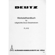 Deutz Diesel Engine F2L912 - F3L912 - F4L912 - F6L912 Workshop Manual