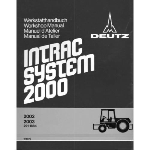 deutz intrac 2002 intrac 2003 chassis workshop manual rh tractorboek com Deutz -Fahr Manual Deutz 2011 Service ManualsOnline