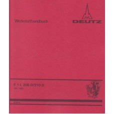 Deutz Diesel Engine F1L208 D - F1L210 D Workshop Manual
