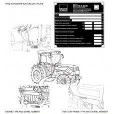 Deutz Fahr Agrocompact F60 - 70F3 - 70F4 - F80 - F90 Workshop Manual