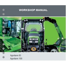 Deutz Fahr Agrofarm 85 - 100 Workshop Manual