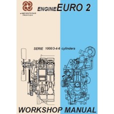 Deutz Fahr Diesel Engine Serie 1000 3 4 6 cylinders EURO2 Workshop Manual