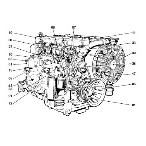 deutz fahr diesel engine bfm 1012 1013 serie bfm1012 bfm1013 rh tractorboek com Deutz Diesel Engine Service Manuals Deutz Diesel Engine Service Manuals