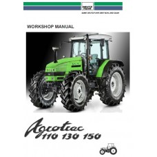Deutz Fahr Agrotrac 110 - 130 - 150 Workshop Manual