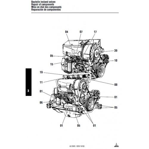 deutz fahr diesel engine 912 913 series fl912 fl913 bfl913 rh tractorboek com
