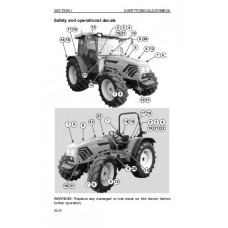 Deutz Fahr Agroplus 67 - 77 - 87 Operators Manual