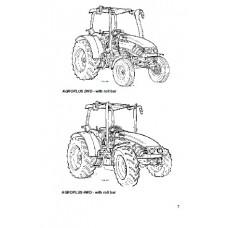 Deutz Fahr Agroplus 75 - 85 - 95 - 100 Operators Manual