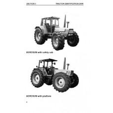 Deutz Fahr Agrosun 100 - 120 - 140 Operators Manual