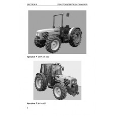 Deutz Fahr Agroplus F70 - F75 - F90 - F100  Operating Manual