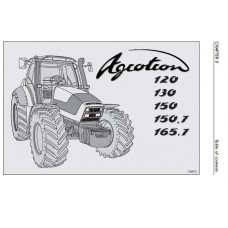 Deutz Fahr Agrotron 120 - 130 - 150 - 150.7 - 165.7 Operators Manual