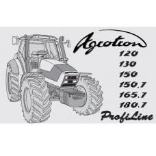 Deutz Fahr Agrotron 120 - 130 - 150 - 150.7 - 165.7 - 180.7 Profiline Operators Manual