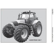 Deutz Fahr Agrotron 180.7 Profiline Operating Manual