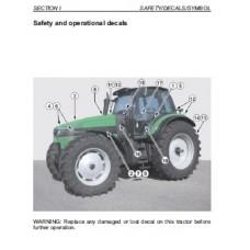 Deutz Fahr Agrotron 200 Operating Manual