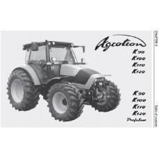Deutz Fahr Agrotron K90 - K100 - K110 - K120 Profiline Operators Manual