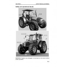 Deutz Fahr Agrofarm 85 - 85GS - 100 - 100GS Operators Manual