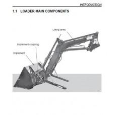Deutz Fahr Front Loader L35H - L50H Operating Manual