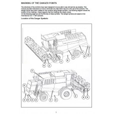 Deutz Fahr Combine 5545H - 5565H - 5585HT Operating Manual