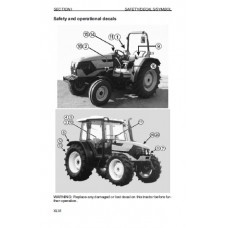 Deutz Fahr Agroplus 60 - 70 - 80 Operators Manual